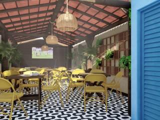 من Maria Julia Faria Arquitetura e Interior Design إستوائي