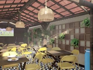 by Maria Julia Faria Arquitetura e Interior Design Tropical