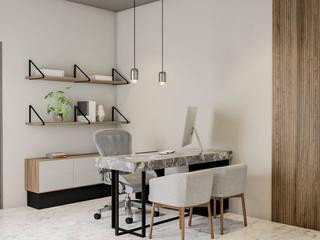 Showroom de Mármol / Acabados Arquitectónicos Espacios comerciales de estilo moderno de Rapzzodia Interiorismo Moderno