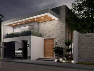 Casa González Paredes de Ag Arquitectos Moderno