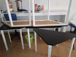 SENZA SPAZIO STUDIO Office spaces & stores Metal White