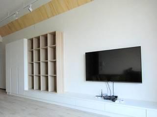 電視牆錦集 根據 黑革設計HaygerInteriorDesign 北歐風