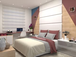 Laene Carvalho Arquitetura e Interiores Modern Ahşap Ahşap rengi
