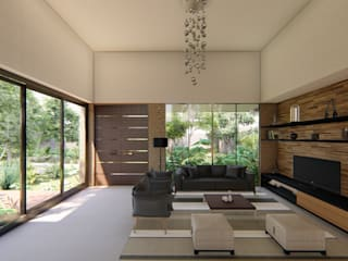 Modern living room by EMERGENTE | Arquitectura Modern