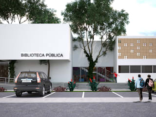 Allestimenti fieristici moderni di EMERGENTE | Arquitectura Moderno