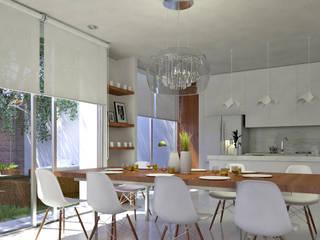 Casa Patio de EMERGENTE | Arquitectura Moderno