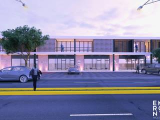 Locales QD Centros comerciales de estilo moderno de EMERGENTE | Arquitectura Moderno