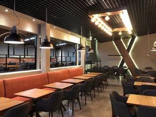 Bei restaurant NOVA MİMARİ TASARIM İç Dekorasyon İşlenmiş Ahşap Siyah