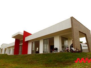 CASA CAMPESTRE EN LA CUMBRE - PAVAS de SAAV Arquitectos Moderno