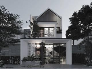 Mẫu thiết kế nhà phố hiện đại bởi NEOHouse
