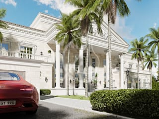 Classical Palace Architecture by Comelite Architecture, Structure and Interior Design Classic