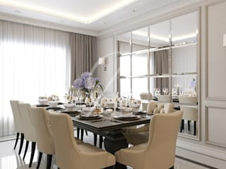 Classic House Interior Design Classic style dining room by Comelite Architecture, Structure and Interior Design Classic