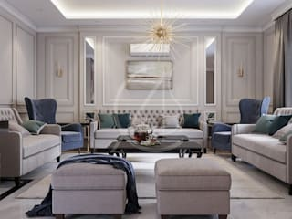 Classic House Interior Design Classic style living room by Comelite Architecture, Structure and Interior Design Classic