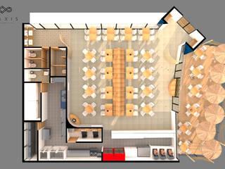 A TAKEAR HOLBOX Gastronomía de estilo mediterráneo de Praxis Arquitectura Mediterráneo