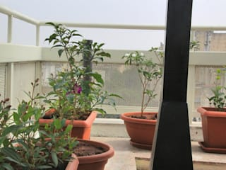 Interioforest Plantscaping Solutions Classic style balcony, veranda & terrace