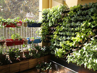 Vertical Garden Interioforest Plantscaping Solutions Balcony