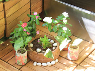 Custom decoration Interioforest Plantscaping Solutions Balcony
