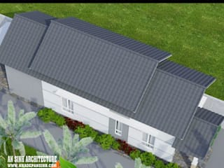 Thiết kế nhà cấp 4 ngang 6m đẹp hiện đại nhất bởi Nhà Đẹp An Sinh