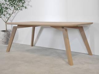 Mesita de baja de centro de Albura Wood Designs Escandinavo