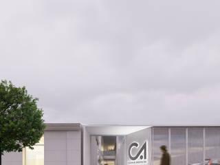 ARBOL Arquitectos Minimalist office buildings