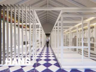 Oficinas y tiendas de estilo minimalista de ARBOL Arquitectos Minimalista