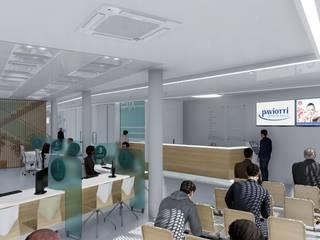 Edificios de oficinas de estilo minimalista de ARBOL Arquitectos Minimalista