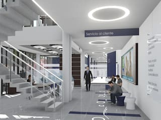 Modern Klinikler ARBOL Arquitectos Modern