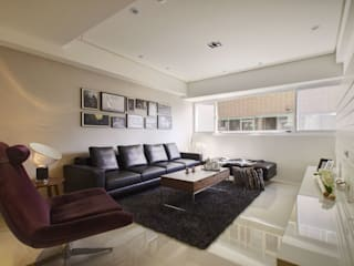 Modern living room by 拾雅客空間設計 Modern