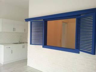SERPİCİ's Mimarlık ve İç Mimarlık Architecture and INTERIOR DESIGN Interior landscaping Komposit Kayu-Plastik Blue