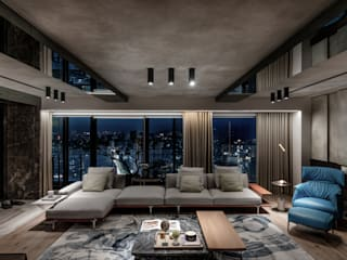 Green Living from Within Modern Living Room by Guru Interior Design Consultant Modern