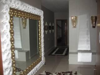 SERPİCİ's Mimarlık ve İç Mimarlık Architecture and INTERIOR DESIGN Corridor, hallway & stairsAccessories & decoration Perunggu Amber/Gold