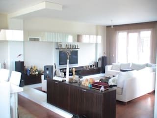 SERPİCİ's Mimarlık ve İç Mimarlık Architecture and INTERIOR DESIGN Interior landscaping Komposit Kayu-Plastik White