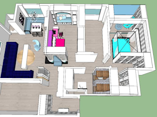 SERPİCİ's Mimarlık ve İç Mimarlık Architecture and INTERIOR DESIGN Interior landscaping Komposit Kayu-Plastik Multicolored