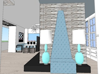 SERPİCİ's Mimarlık ve İç Mimarlık Architecture and INTERIOR DESIGN Interior landscaping Batu Grey