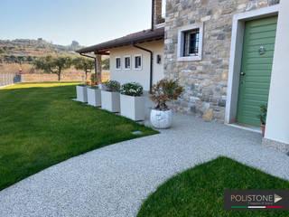 Polistone Boden Marmor Weiß