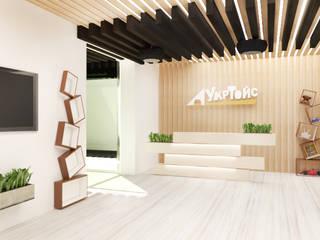 """офис компании """"Арт Тойс"""" от Синтез Дизайн Классический"""