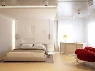 Квартира г.Козин Спальня в стиле лофт от Синтез Дизайн Лофт