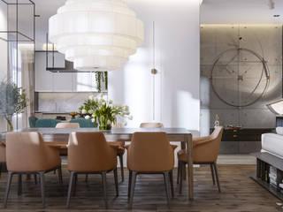 SPRING Столовая комната в стиле минимализм от Privalovdesign Минимализм