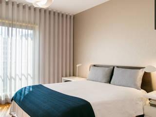 Traço Magenta - Design de Interiores Yatak OdasıYataklar & Yatak Başları