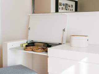 Traço Magenta - Design de Interiores Phòng ngủ phong cách tối giản
