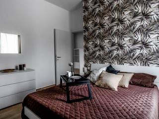 Green Francesco Cardelli Architetto Camera da letto in stile tropicale