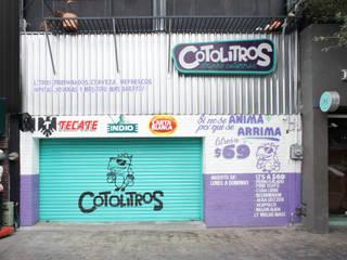 Cotolitros: Trayendo de Vuelta al Depósito de la Esquina. Bares y clubs de estilo tropical de Mona Mx Diseño Tropical