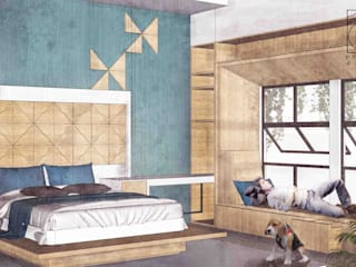 Ilham Bedroom Ruang Komersial Modern Oleh Permanas Design Modern
