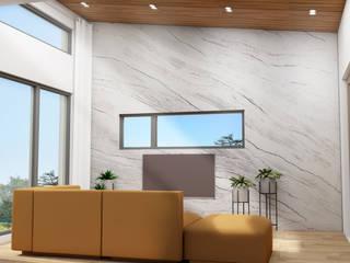 공간제작소(주) Moderne Wohnzimmer