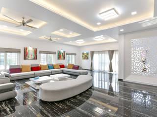 A B Design Studio Modern living room