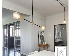 Apartment Killarney Modern dining room by KA.Architecture+Design Modern