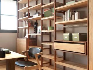 木耳生活藝術-實木家具設計/衣櫃  書櫃: 現代  by 木耳生活藝術, 現代風