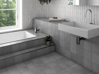 Phòng tắm phong cách kinh điển bởi Equipe Ceramicas Kinh điển