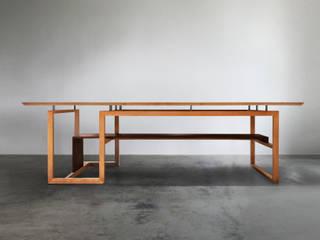 木耳生活藝術-實木桌設計/逾矩餐桌: 現代  by 木耳生活藝術, 現代風