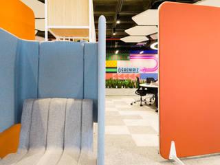 İş Kule Ofis Tasarım Fotoğraflama Modern Çalışma Odası Platon Dijital Fotoğraf Çözümleri Modern